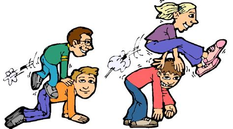 Outdoor Family Games Clipart