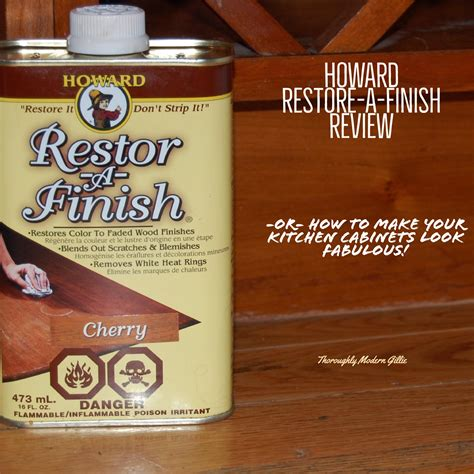 Restore Cabinet Finish - howard restore a finish review refresh your woodwork