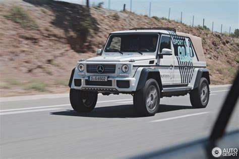 Our car experts choose every product we feature. Mercedes-Maybach G 650 Landaulet W463 - 27 July 2017 ...