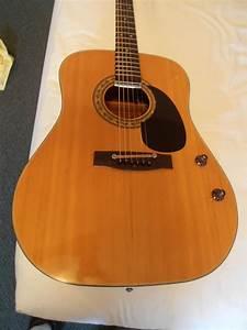 Vintage 1971 Alvarez 5046 Acoustic Electric Guitar