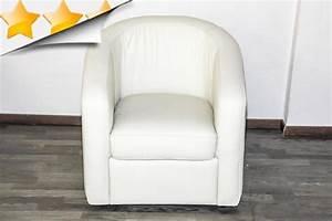 Fauteuil Cuir Blanc : fauteuil cabriolet cuir blanc 18 id es de d coration ~ Melissatoandfro.com Idées de Décoration