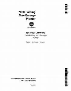 John Deere 7000 Folding Max