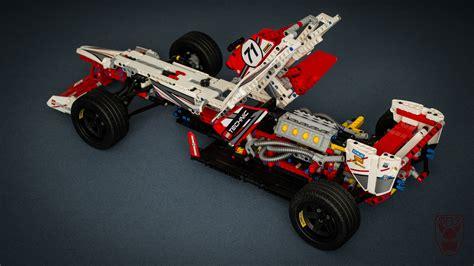 Technics Lego Car by Lego Technics F1 Car D B R C Racing