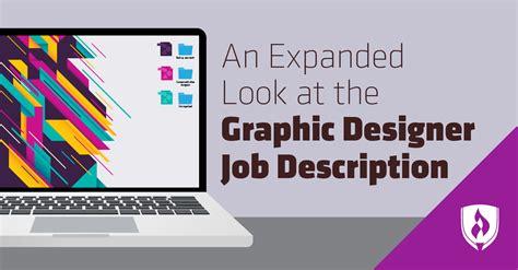 expanded    graphic designer job description