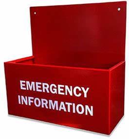 Emergency Information Holder - Indoor - Spillcrew.com.au
