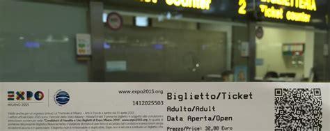 Costo Ingresso Expo 2015 I Biglietti Dell Expo Prendono Il Volo Si Possono Comprare