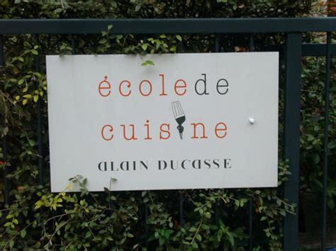 cours de cuisine alain ducasse ecole de cuisine alain