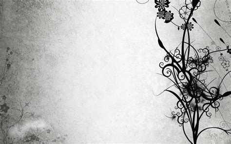 Abstract Flowers Black And White by Abstract Black And White Flowers Wallpaper 162