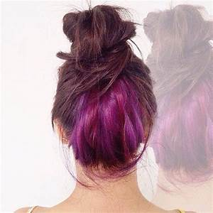 Brown Hair With Pink Underlayer | www.pixshark.com ...