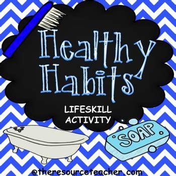 lifeskill activity healthy habits  natasha boysal