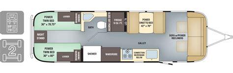 travel trailer floor plans airstream floor plans airstream classic limited luxury