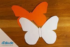 Schmetterlinge Aus Tonpapier Basteln : schmetterling basteln aus papier ~ Orissabook.com Haus und Dekorationen