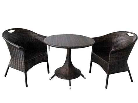 coffee shop furniture rattan coffee table set garden