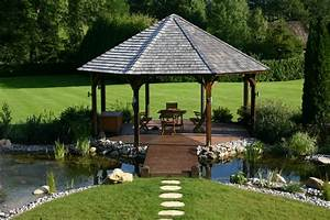 Construire Une Pergola En Bois : construire pergola bois brut jardin accueil design et ~ Premium-room.com Idées de Décoration