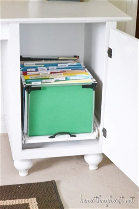 pull out file cabinet drawer diy file cabinet for my office beneath my heart