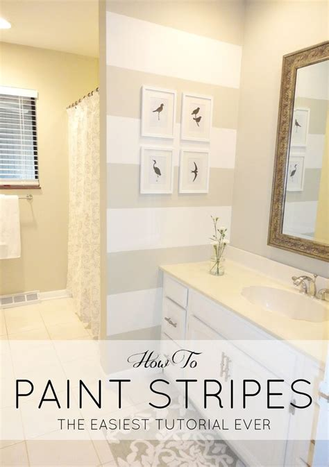 paint stripes ideas  pinterest striped walls