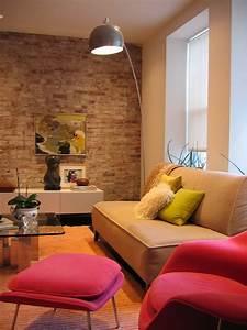Choose, Stone, And, Brick, For, Interior, Design