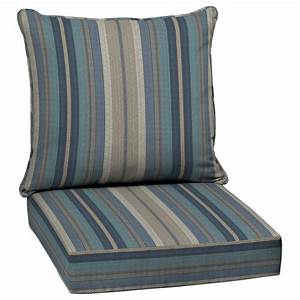 shop allen roth piece deep seat patio chair cushion at With outdoor chair cushions clearance australia