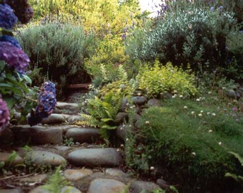 garden path stones stone path and steps