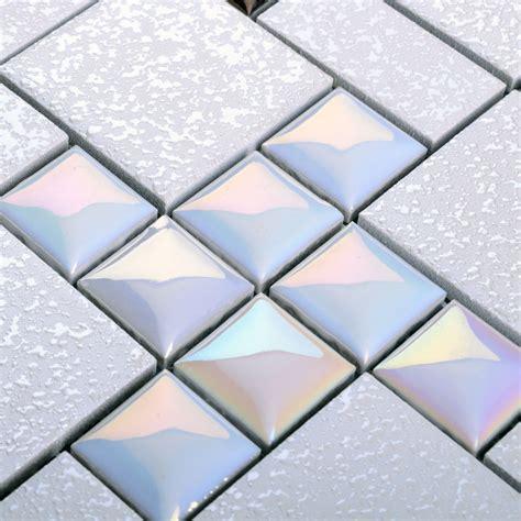floor mirror tiles wholesale porcelain mosaic floor tile grey square iridescent tile kitchen backsplash bathroom