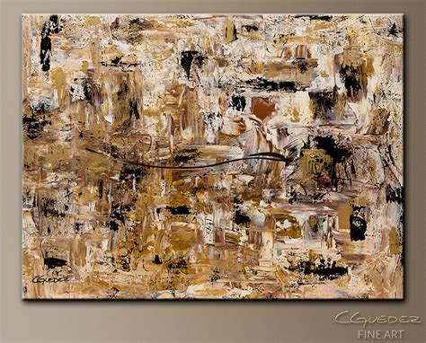 Abstract Black Gold Painting by Made Wall Touch Of Gold Large Abstract Painting
