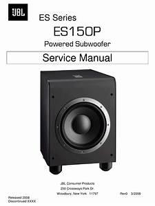 Jbl Es150p Service Manual Pdf Download