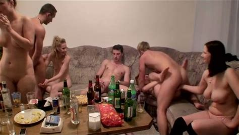 Simple House Party Of College Students Turned Into Hot Group Sex Orgy