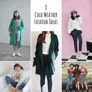 8 Cold Weather Outfit Ideas💠 | Korean Fashion Amino