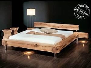 Queensize Bett Maße : sprenger balkenbett original m bel waeber webshop ~ Markanthonyermac.com Haus und Dekorationen