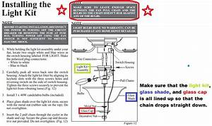 Hampton Bay Ceiling Fan Model Ac 552 Wiring Diagram