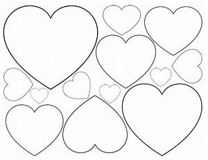 140 best images about i love hearts on pinterest With small heart template to print