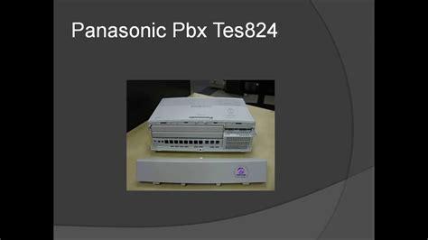 Panasonic Pbx Intercom Complete Wiring Diagram Youtube