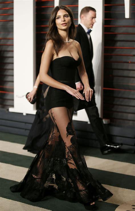Emily Ratajkowski – Vanity Fair Oscar 2016 Party in ...