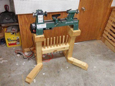 lathe stand woodworking bench plans wood lathe