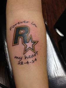 GTA and Rockstar Games Tribute Tattoos? - Grand Theft Auto ...