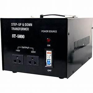 TOPOW ST-5000 Step Up / Down Transformer (5000W) ST5000 B&H