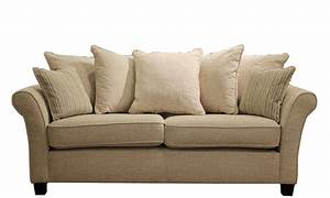 carlton large pillow back sofa in corrine beige all With sectional sofa pillow back