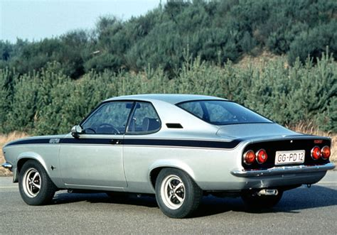 Opel Automobiles by The Car Back Then Opel Manta Gt E