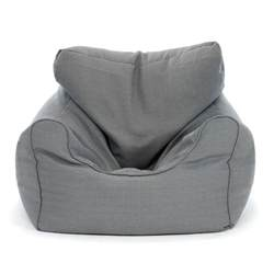large grey bean bag chair kmartnz