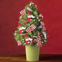 snowman mini christmas tree mini christmas trees delivered