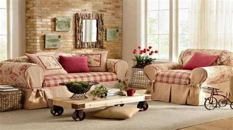 Country Style Living Rooms Ideas, Fall Decorating Ideas
