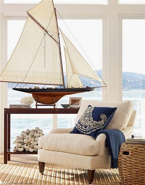 large sailboat wall decor wie sie wohn t r 228 ume im stil der htons gestalten