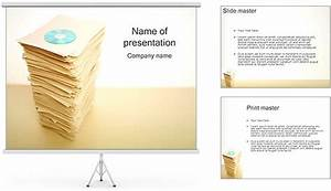 Cd vs paper documents powerpoint template backgrounds id for Powerpoint theme vs template