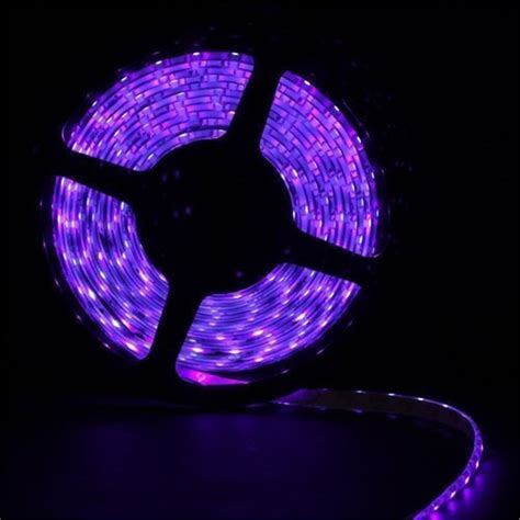 waterproof purple led strip light 3528 smd 300led 5m