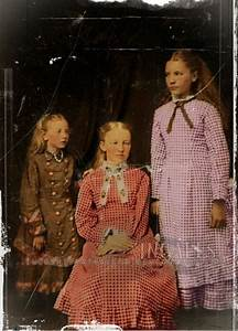The Ingalls Girls - Mary Ingalls seated, Laura Ingalls ...