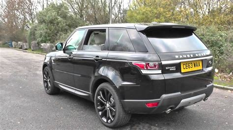 Range Rover Sport 16 Sdv6 Hse Dynamic Review Land Rover Range Rover Sport 3 0 Sdv6 Hse 5dr Auto U8715