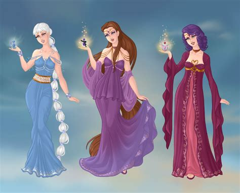 Trix Goddesses By Tohrusempai On Deviantart