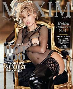 HAILEY BALDWIN in Maxim Magazine, June/July 2017 Issue ...