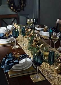 Table De Fete Decoration Noel : quelques id es pour d corer sa table de no l design feria ~ Zukunftsfamilie.com Idées de Décoration