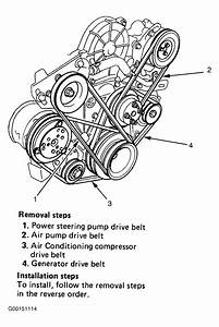 1993 Isuzu Rodeo Serpentine Belt Routing And Timing Belt